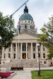 Здание капитолия положения Канзаса, Topeka Стоковые Изображения
