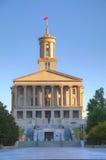Здание капитолия положения Теннесси в Нашвилле стоковые фотографии rf
