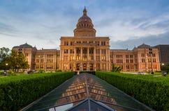 Здание капитолия положения Техаса в Остине, TX стоковые изображения
