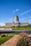 Здание капитолия положения Юты, Солт-Лейк-Сити стоковая фотография rf