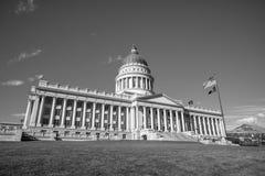 Здание капитолия положения Юты, Солт-Лейк-Сити стоковое фото rf