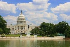 Здание капитолия США в DC Вашингтона стоковое изображение rf