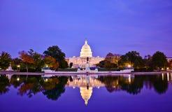 Здание капитолия, DC Вашингтона, США Стоковое фото RF