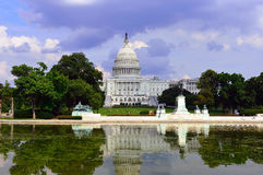 Здание капитолия, DC Вашингтона стоковая фотография
