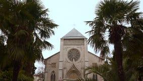 Здание католической церкви акции видеоматериалы