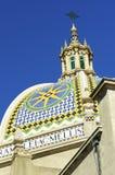 Здание Калифорнии, парк бальбоа стоковые изображения rf