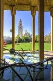Здание Калифорнии, парк бальбоа стоковая фотография rf