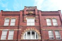 здание кирпича историческое Стоковые Изображения RF