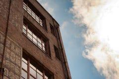 Здание кирпича Стоковое фото RF