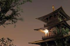Здание Китая историческое, башня Стоковые Фото