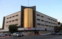Здание компании в мае в Лос-Анджелесе, CA Стоковые Изображения RF