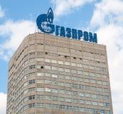 Здание компании Газпрома Стоковое Изображение