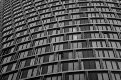Здание контраста Стоковые Фото
