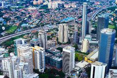 Здание Куалаа-Лумпур Стоковые Изображения