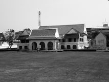 Здание клуба разведчика Стоковое фото RF