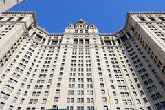 Здание Манхаттана муниципальное Стоковое Фото