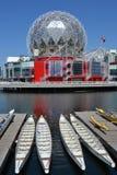 Здание мира науки в Ванкувере, Канаде Стоковые Изображения RF
