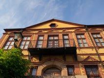 Здание музея Xanthi фольклорное Стоковое Фото