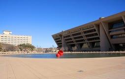 Здание муниципалитет Даллас внутри городское Стоковые Изображения