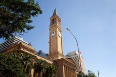 здание муниципалитет brisbane Стоковое Изображение