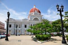 здание муниципалитет cienfuegos Стоковое Изображение