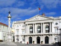 здание муниципалитет lisbon Стоковое Изображение