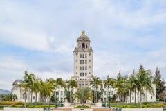 Здание муниципалитет Беверли-Хиллз, Калифорния Стоковое Изображение RF