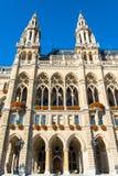 Здание муниципалитет вены Стоковая Фотография