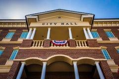 Здание муниципалитет в Дулуте, Georgia Стоковая Фотография