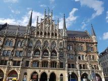 Здание муниципалитет в Мюнхене Стоковое Фото