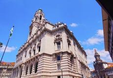 Здание муниципалитет в Порту Стоковые Фотографии RF