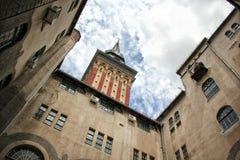 Здание муниципалитет в Subotica стоковые фото