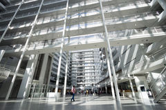 Здание муниципалитет Гааги Стоковое фото RF