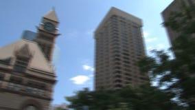 Здание муниципалитет городской Торонто, Канада видеоматериал