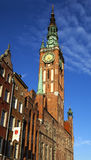 Здание муниципалитет Гданьска Стоковое Изображение
