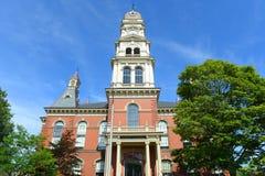 Здание муниципалитет Глостера, Массачусетс, США Стоковое фото RF
