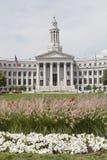 Здание муниципалитет Денвера стоковое фото