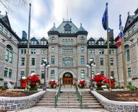 Здание муниципалитет Квебека (город) стоковое изображение