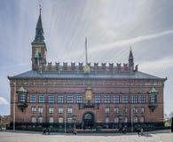 Здание муниципалитет Копенгагена Стоковое Изображение RF