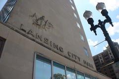 Здание муниципалитет Лансинга Стоковое Изображение