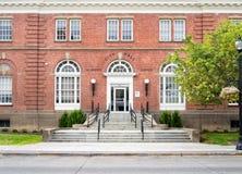 Здание муниципалитет, Ла большое, Орегон Стоковые Изображения RF