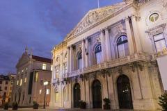Здание муниципалитет Лиссабона Стоковое Изображение