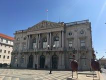 Здание муниципалитет Лиссабона Стоковое Изображение RF