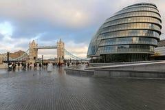 Здание муниципалитет Лондона Стоковое Изображение