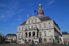 Здание муниципалитет - Маастрихт - Нидерланды Стоковые Фото