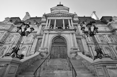 Здание муниципалитет Монреаля Стоковые Фотографии RF
