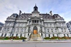 Здание муниципалитет Монреаля Стоковое Изображение RF