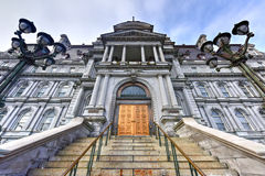Здание муниципалитет Монреаля стоковая фотография rf