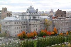Здание муниципалитет Монреаля стоковое фото