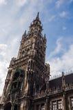 Здание муниципалитет Мюнхена Стоковая Фотография